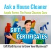 Gift Certificates For House Cleaning?