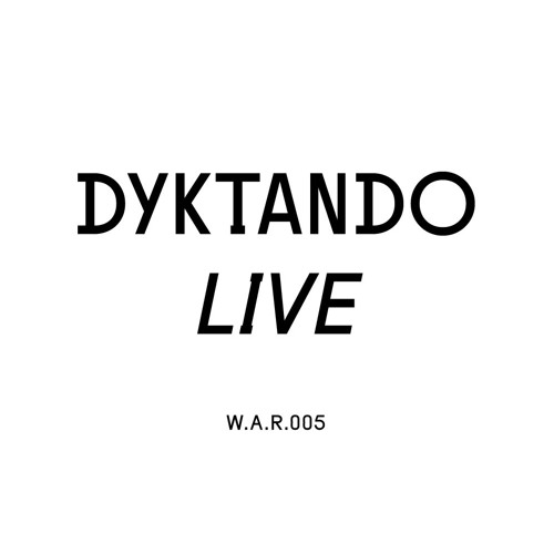 Dyktando live @ We Are Radar   W.A.R.005