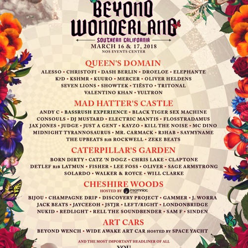 Beyond Wonderland SoCal 2018