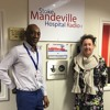 Stoke Mandeville Hospital Radio Interview Jo Kendall and Junior Cuffy