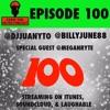 THE 100 EPISODE GUEST @MEGANRYTE @DJJUANYTO @BILLYJUNE88 @REALDJJOHN