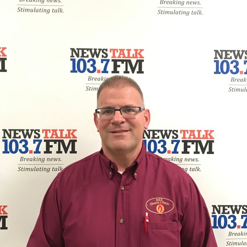 News Talk 103.7FM Welcomes Rick From AES Hearth & Patio