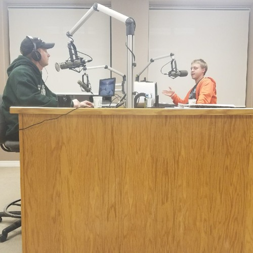 Isaac Erickson Joins The Roseau Rams Coaches Show