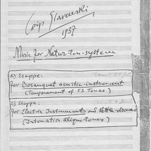 Slavenski MusicNatural53e6v