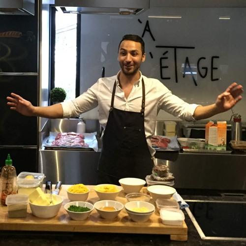 Un atelier culinaire avec Hakim Chajar