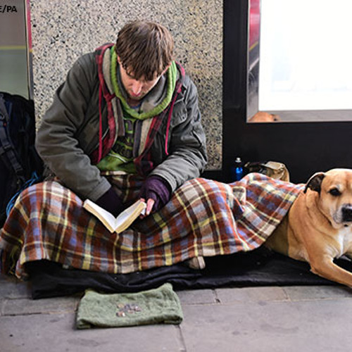 We must not get to the stage of thinking that [homelessness] is normal