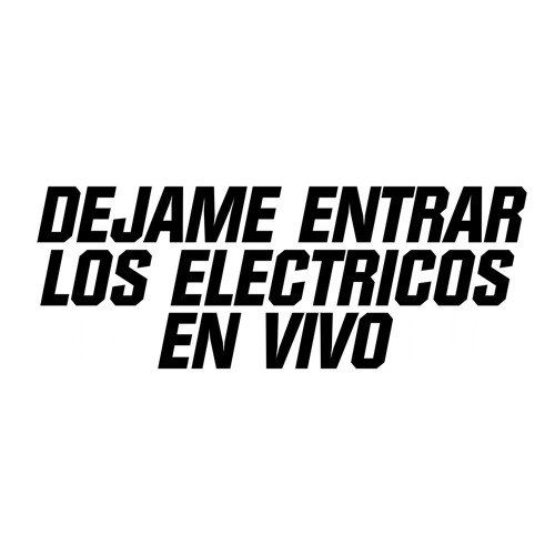 """08 En blanco y negro - LOS ELECTRICOS - """"DEJAME ENTRAR, LOS ELECTRICOS EN VIVO"""" 2009"""