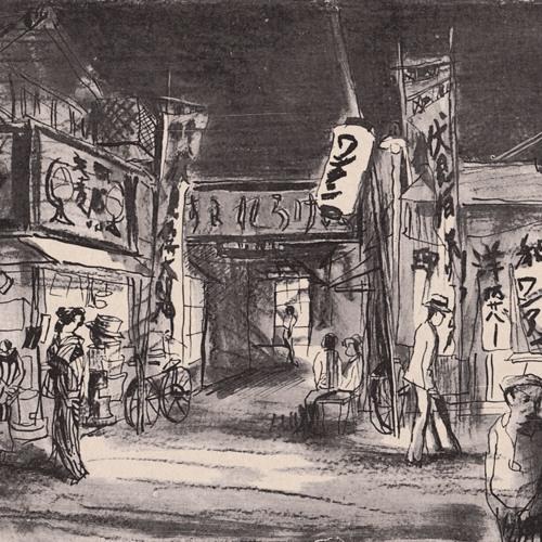 5. 濹東綺譚p39~p43《五景・ラビラント》