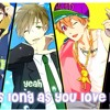 Nightcore - As Long As You Love Me Switching Vocals Lyrics (BackStreet Boys)
