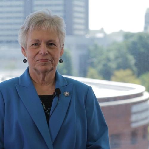 Buck Goldstein Talks with Georgia State University Provost, Risa Palm