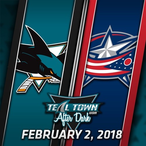 Teal Town USA After Dark (Postgame) - Sharks @ Blue Jackets - 2-2-2018