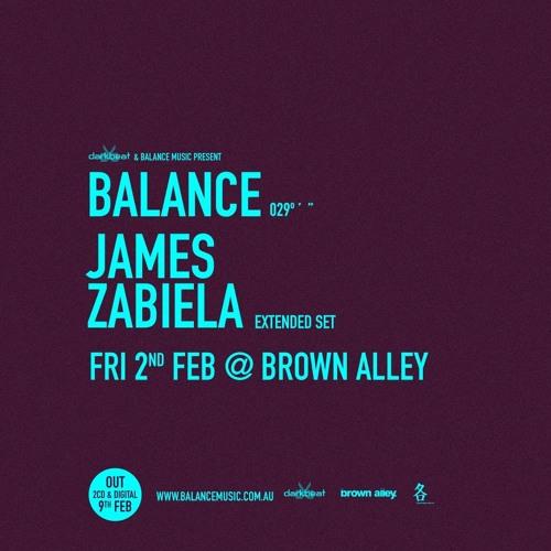 Rob Zile - Live @ Balance & Darkbeat present James Zabiela - Brown Alley, Melbourne - 02.02.2018