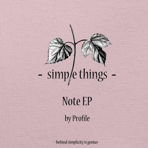 [STRD018] Profile - Note