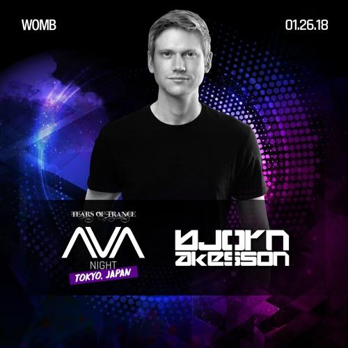 Bjorn Akesson - Live @ AVA Night (WOMB) Tokyo [26-01-2018]