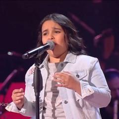 أشرقت أحمد – حيرت قلبي معاك -  the voice kids