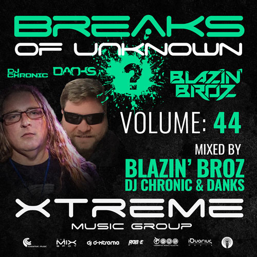 Breaks Of Unknown Vol. 44 - Blazin' Broz