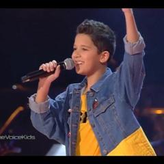 حمزة لبيض – حب ايه - the voice kids