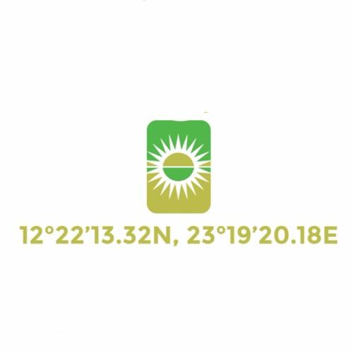12°22'13.32N, 23°19'20.18E