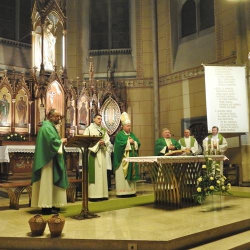 Sveta maša  ob obletnici smrti Janeza Gnidovca v cerkvi na Taboru
