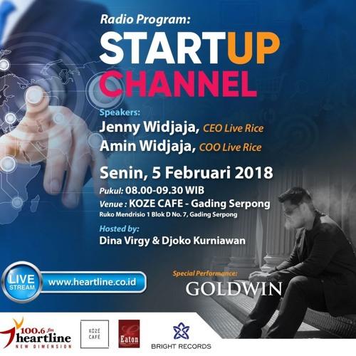 StartUp Channel   Edisi 05 Februari 2018
