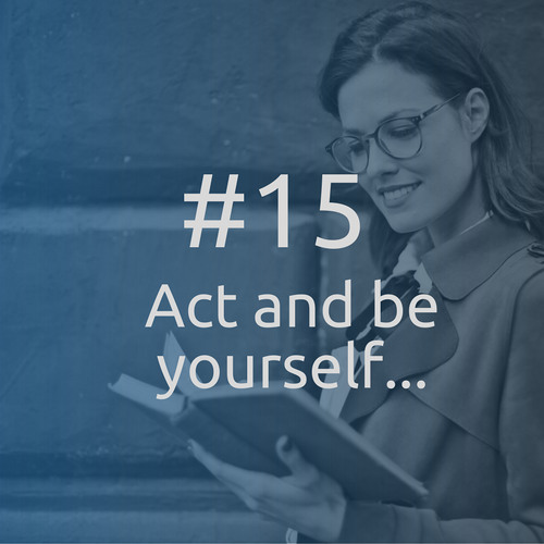 #15 Act and be yourself, or how to become a business expert - Dorie Clark