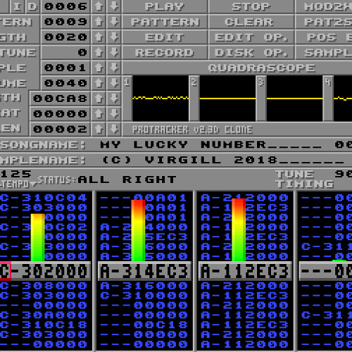 Amiga: My lucky number