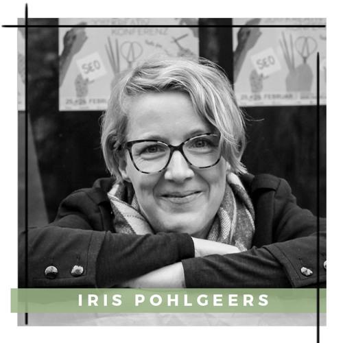 Vorstand des Berlin Kreativ Kollektiv Iris Pohlgeers – Podcast Episode 14 im sisterMAG Radio