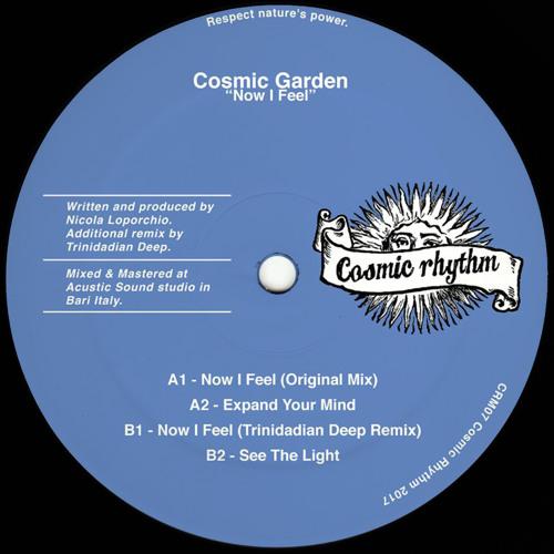 SB PREMIERE: Cosmic Garden - Now I Feel(Trinidadian Deep Remix)[Cosmic Rhythm]