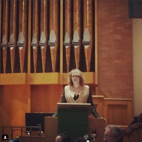 Jesica Carson Davis poetry reading with Stratus Chamber Orchestra (February 2018)