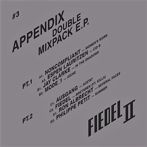 APPENDIX - DOUBLE MIXPACK E.P. - FIEDELTWO #3