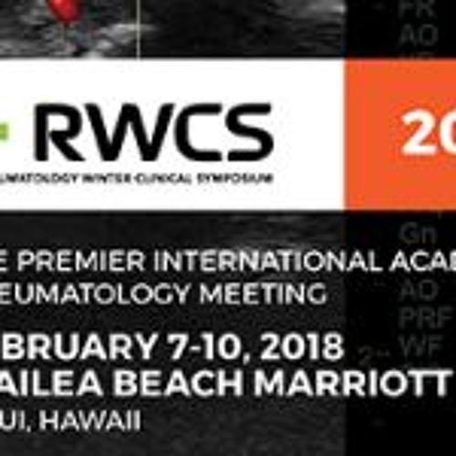 RheumNow - RWCS 2018 - Day 1