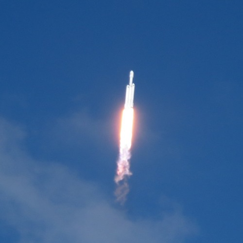 Falcon Heavy Launch Audio