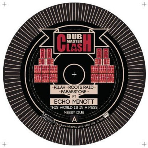 Dub Master Clash feat Echo Minott : This world is in a mess
