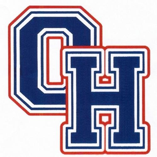 Oak Hill Athletes: Peyton Wright (Cheerleader) & $ Members of the Co-op Hockey team