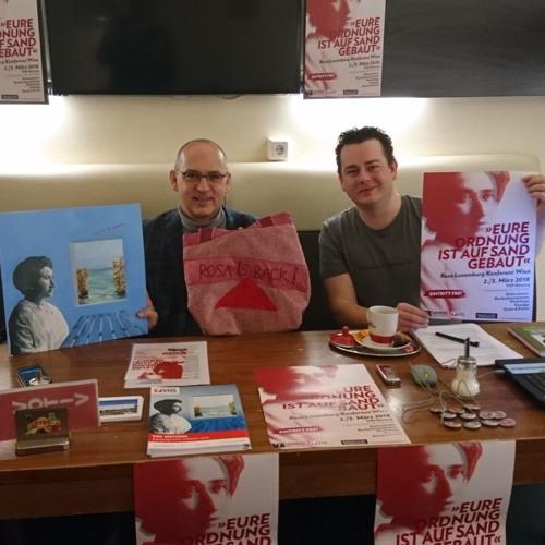PK/Programmpräsentation Rosa Luxemburg Konferenz 2018