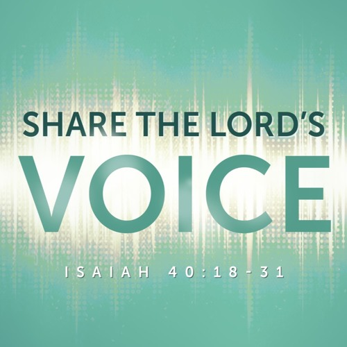 """2-4-2018 """"Share the Lord's Voice"""" Rev Clay Thomas"""