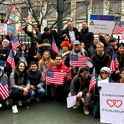 Protesters rally for family-based immigration