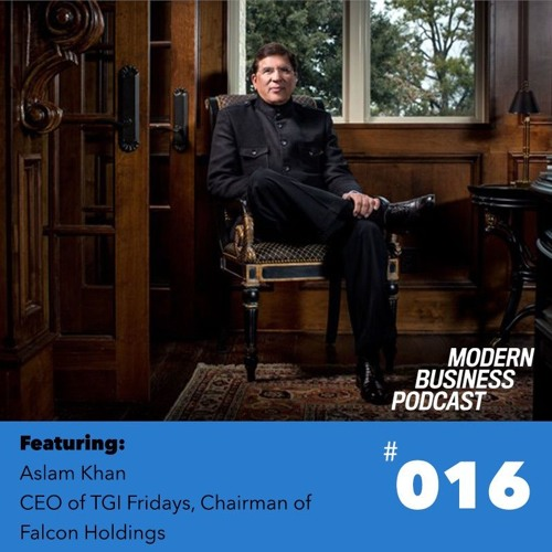 016: Aslam Khan - A Live Chat at TGI Fridays HQ