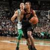 Los Cavaliers de Cleveland y Los Celtics de Boston el 11 de febrero del 2018