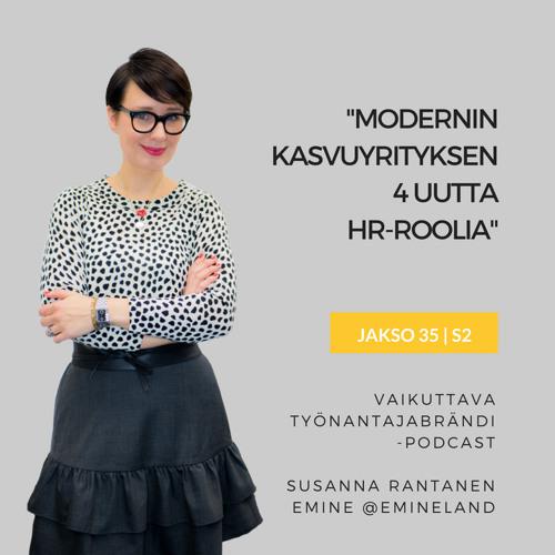Modernin kasvuyrityksen 4 uutta HR-roolia