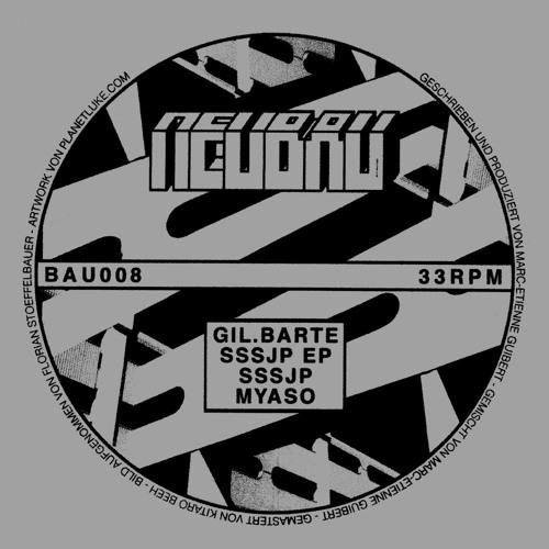 Gil.Barte - Sssjp EP - BAU008