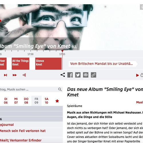 """KMET In Ö1 Spielräume Zu """"Smiling Eye"""" 2018"""