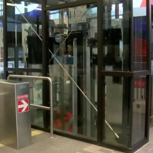 Elevators Enhance Accessibility at Montreal Metro Station