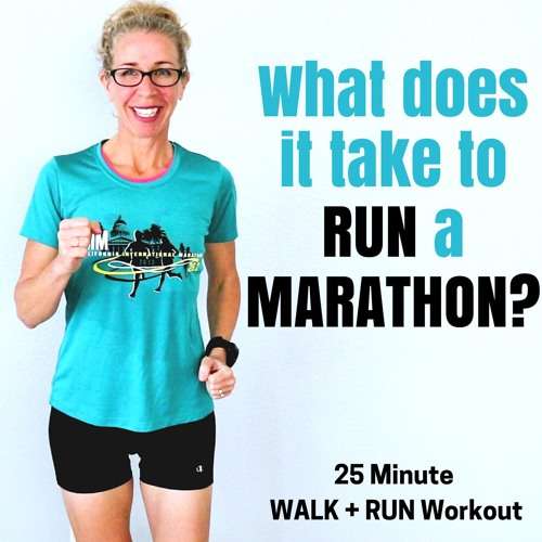 3 Mile RUN + WALK Podcast | What Does It Take To Run A MARATHON?