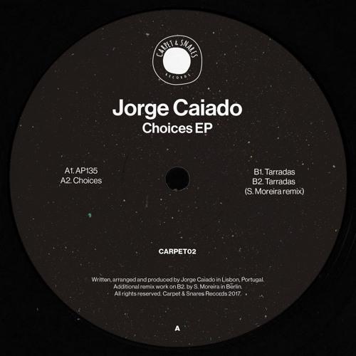 First Play: Jorge Caiado - Tarradas (S. Moreira Remix) [Carpet & Snares]
