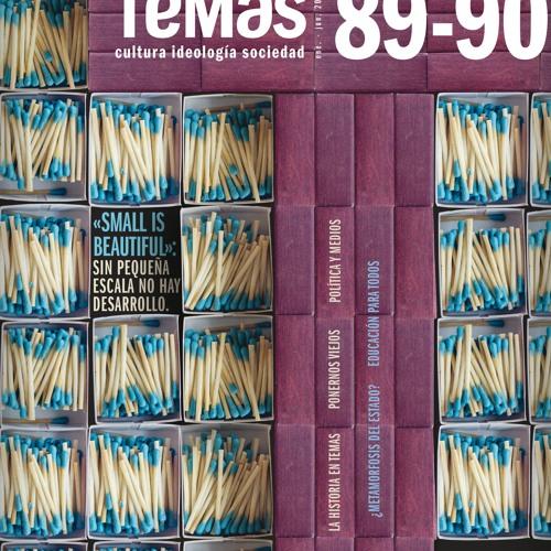 Presentación de la revista 89-90 de la revista Temas por el economista cubano Ricardo Torres