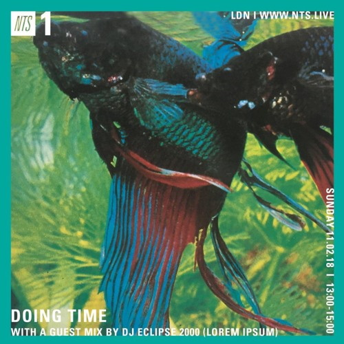 NTS - Doing Time w/ DJ Eclipse 2000