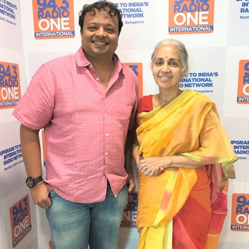 Hrishi K with Usha Banerji - Ceo St Jude India Cancer Childcare Centre