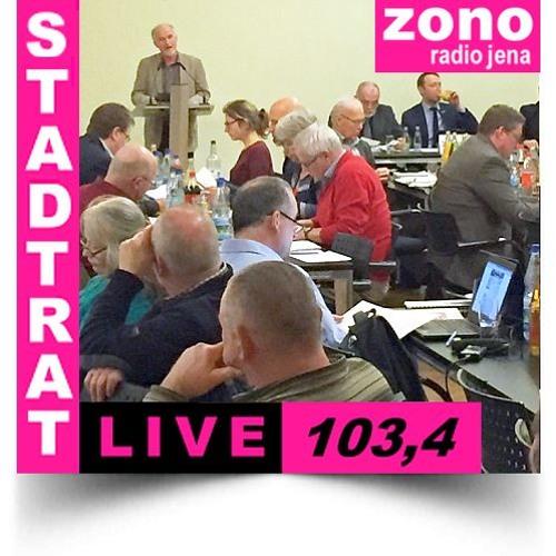 Hörfunkliveübertragung (Teil 1) der 41. Sitzung des Stadtrates der Stadt Jena am 14.02.2018