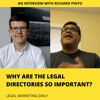 Why are the legal directories so important? An interview with Richard Pinto
